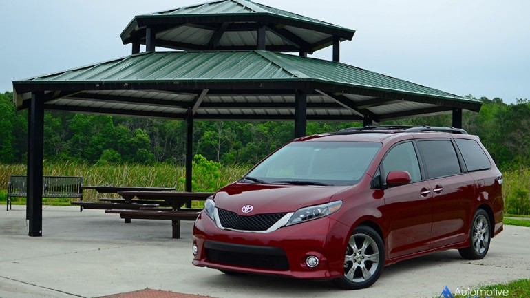 In Our Garage: 2015 Toyota Sienna SE