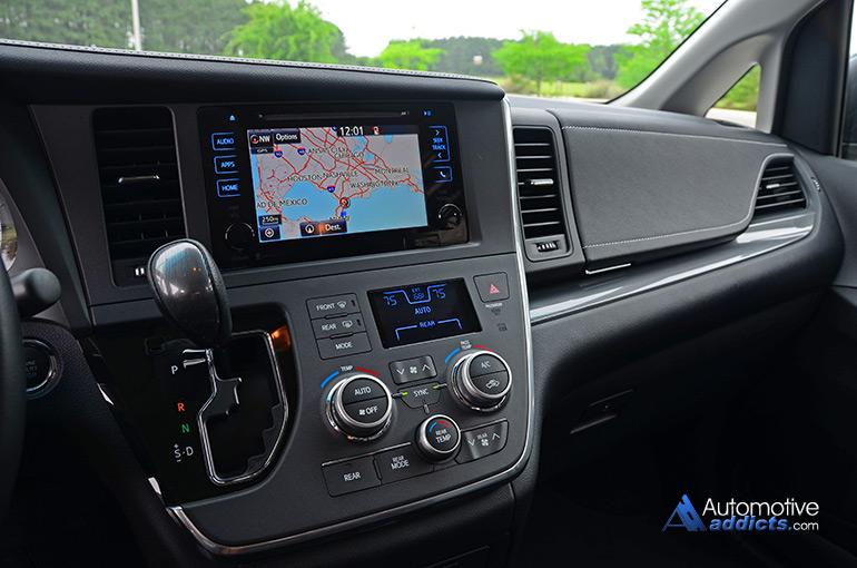 2015 Toyota Sienna Se Half Dashboard Automotive Addicts