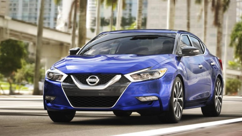 2016 Nissan Maxima Makes Global Debut at New York Auto Show – Priced at $32,410