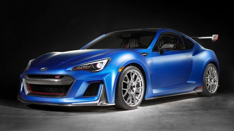 Should Of Could Of: Subaru BRZ STI Performance Concept Unveiled at 2015 New York Auto Show