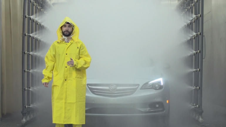 April Showers No Match for 2016 Buick Cascada