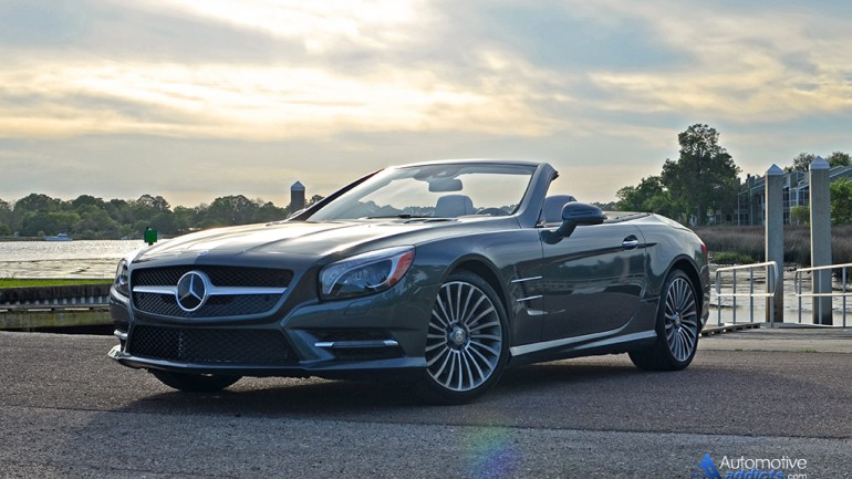 2015 Mercedes-Benz SL400 Roadster Review & Test Drive