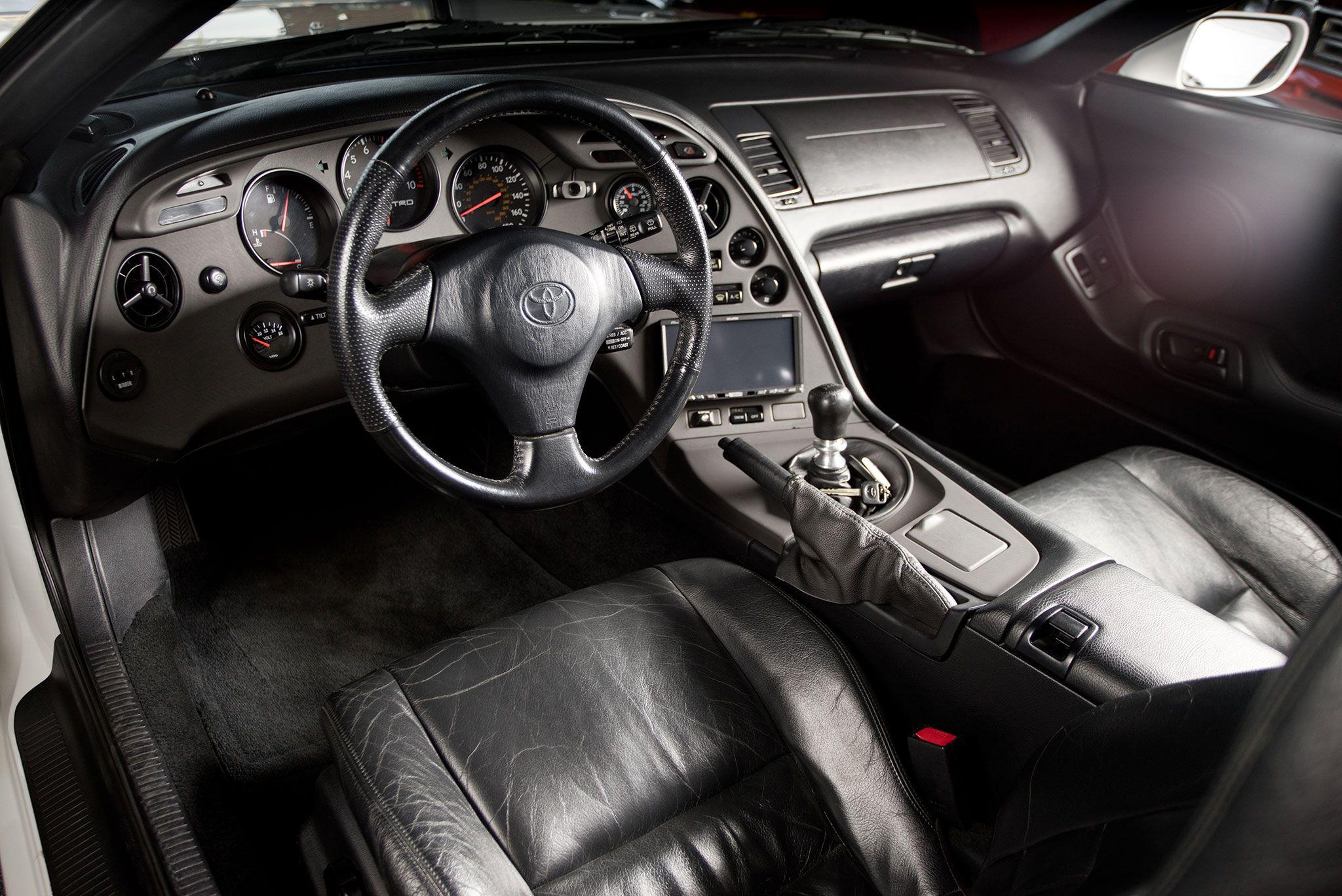 Furious 7 1998 Toyota Supra Trd Dashboard Interior