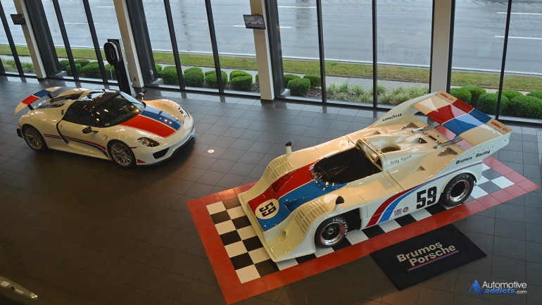 917 Plus 1 Equals Brumos Porsche's new Hurley Haywood inspired 918 Hypercar