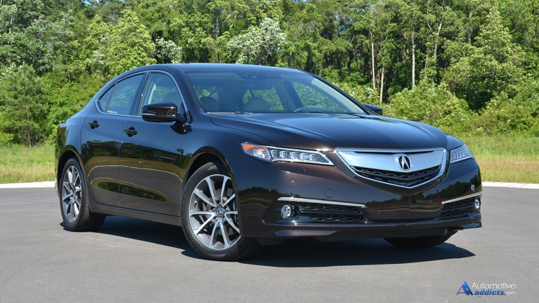 2015 Acura TLX V6 SH-AWD Advance Package Review & Test Drive