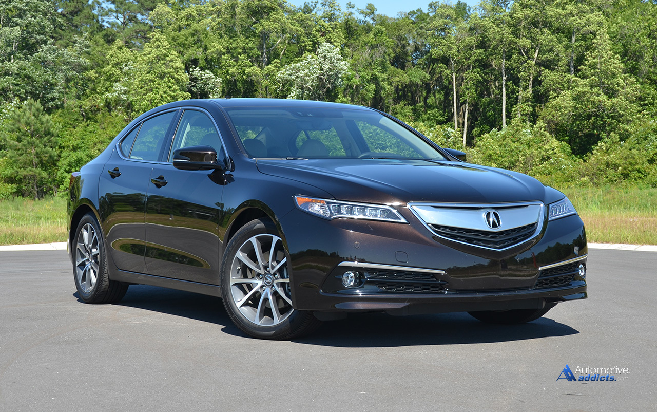 2015 Acura Tlx V6 Sh Awd Advance Package Review Test Drive Automotive Addicts