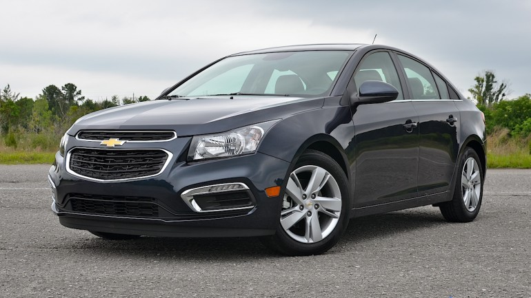 2015 Chevrolet Cruze Turbo Diesel Review & Test Drive