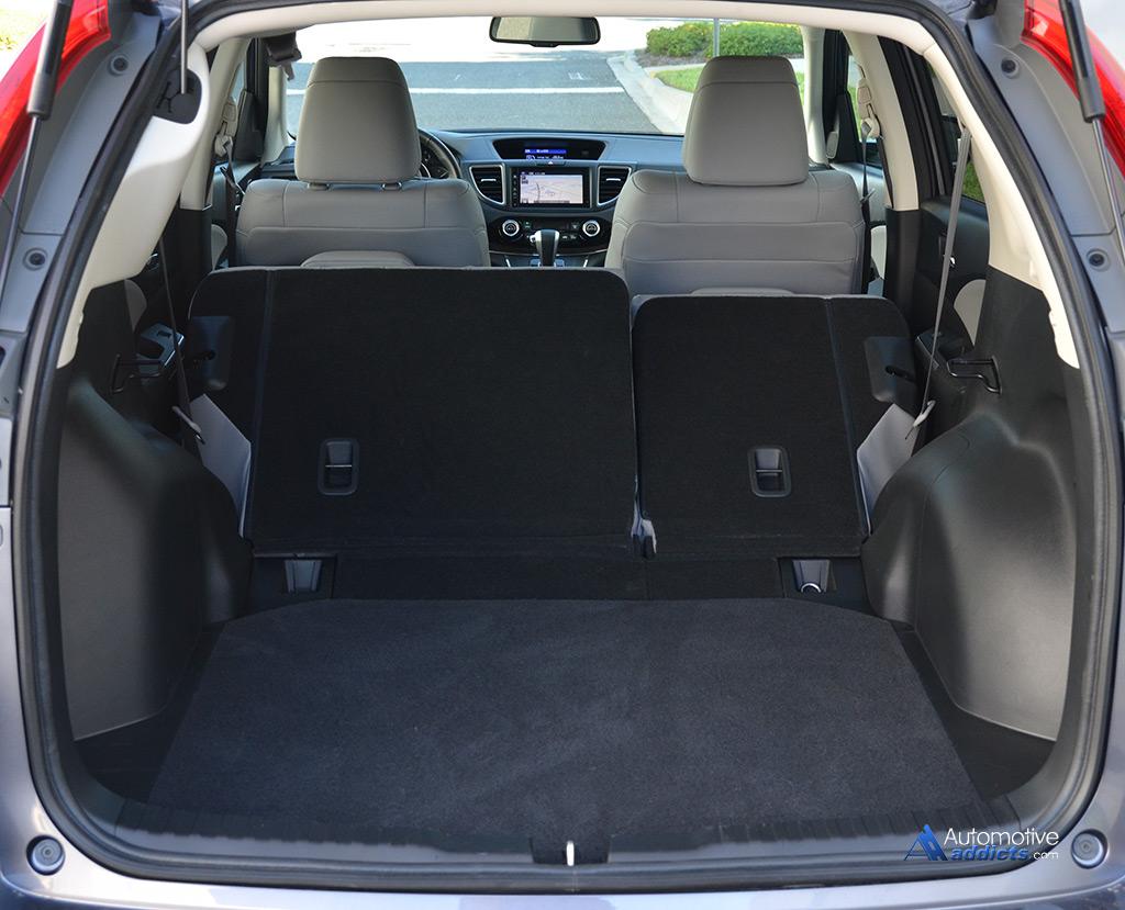 2015 Honda CR-V AWD Touring Review & Test Drive
