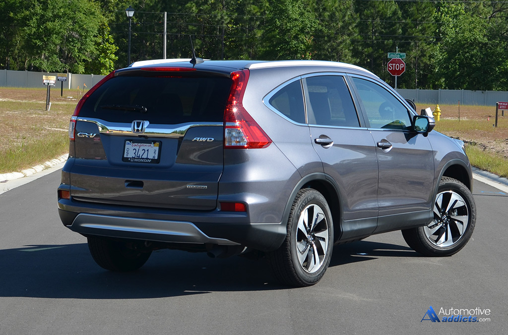 In Our Garage 2015 Honda Cr V Awd Touring