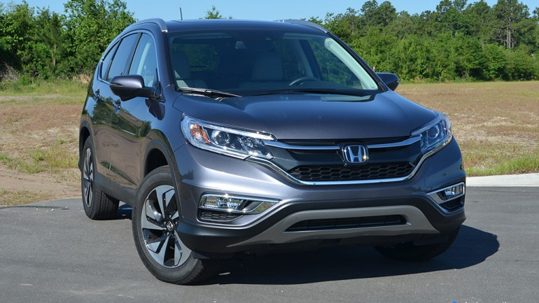 2015 Honda CR-V AWD Touring Review & Test Drive