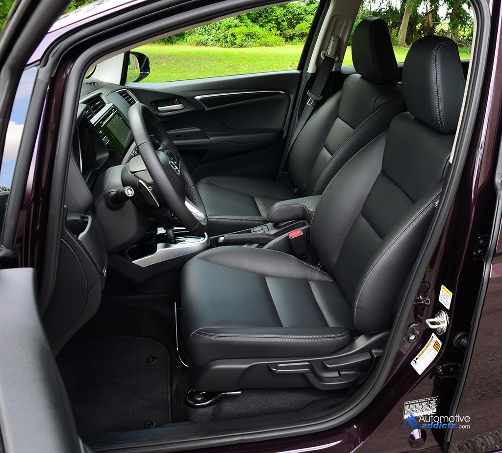 2015 Honda Fit EX L Review & Test Drive
