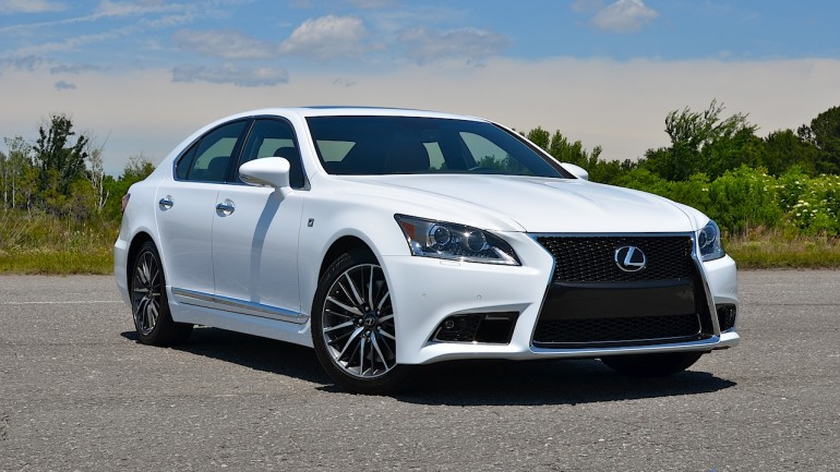 2015 Lexus LS 460 F Sport Review & Test Drive