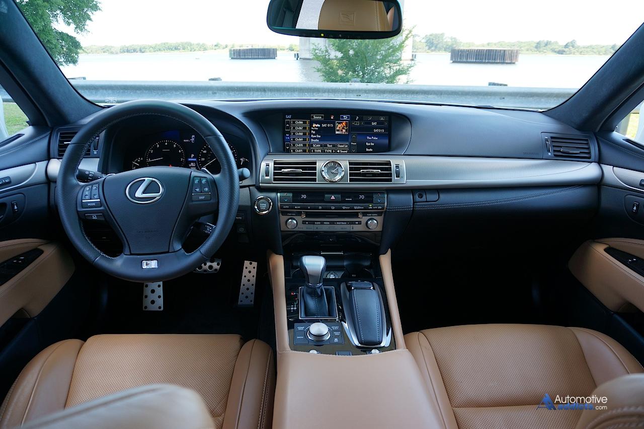 2015 Lexus Ls460 F Sport Dashboard 2
