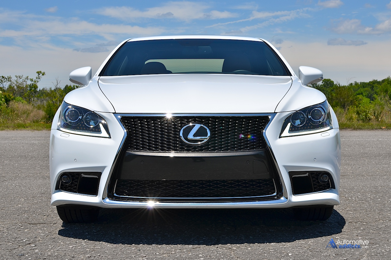 2015 lexus ls 460 f sport review test drive. Black Bedroom Furniture Sets. Home Design Ideas