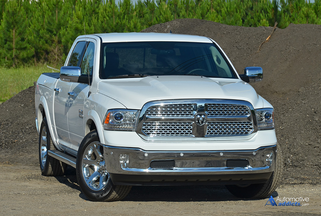 2015 ram 1500 laramie crew cab v6 4 2 review test drive. Black Bedroom Furniture Sets. Home Design Ideas