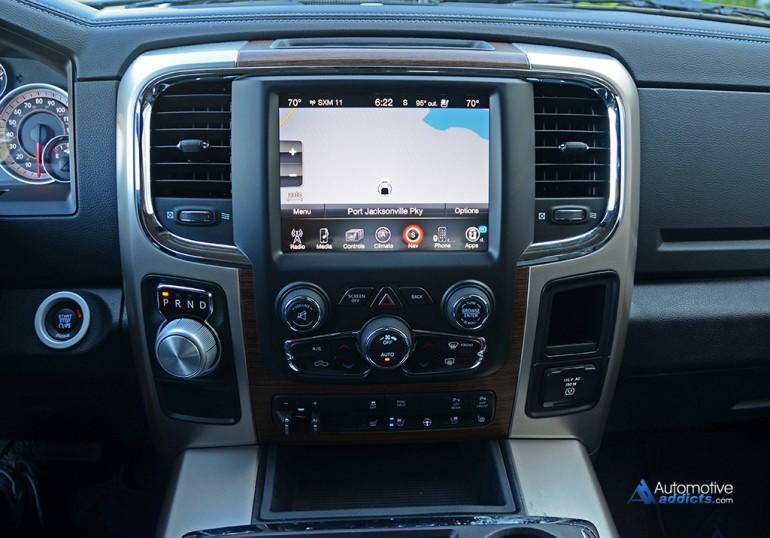 Dodge Ram Diesel For Sale >> 2015-ram-1500-laramie-4×2-v6-crew-cab-center-dashboard