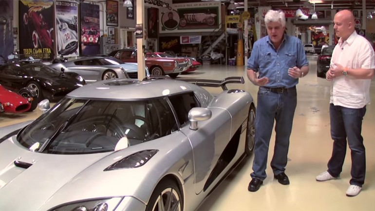 Christian Von Koenigsegg Visits Jay Leno's Garage With CCXR Trevita: Video