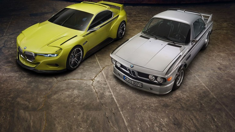 BMW 3.0 CSL Hommage Concept Revealed