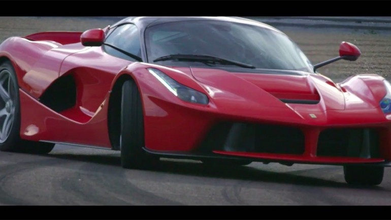 2015 Ferrari LaFerrari Test Driven On Track: Video