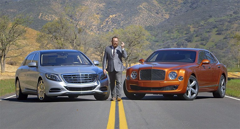 Bentley Mulsanne Speed Goes Head 2 Head with Mercedes-Maybach: Video