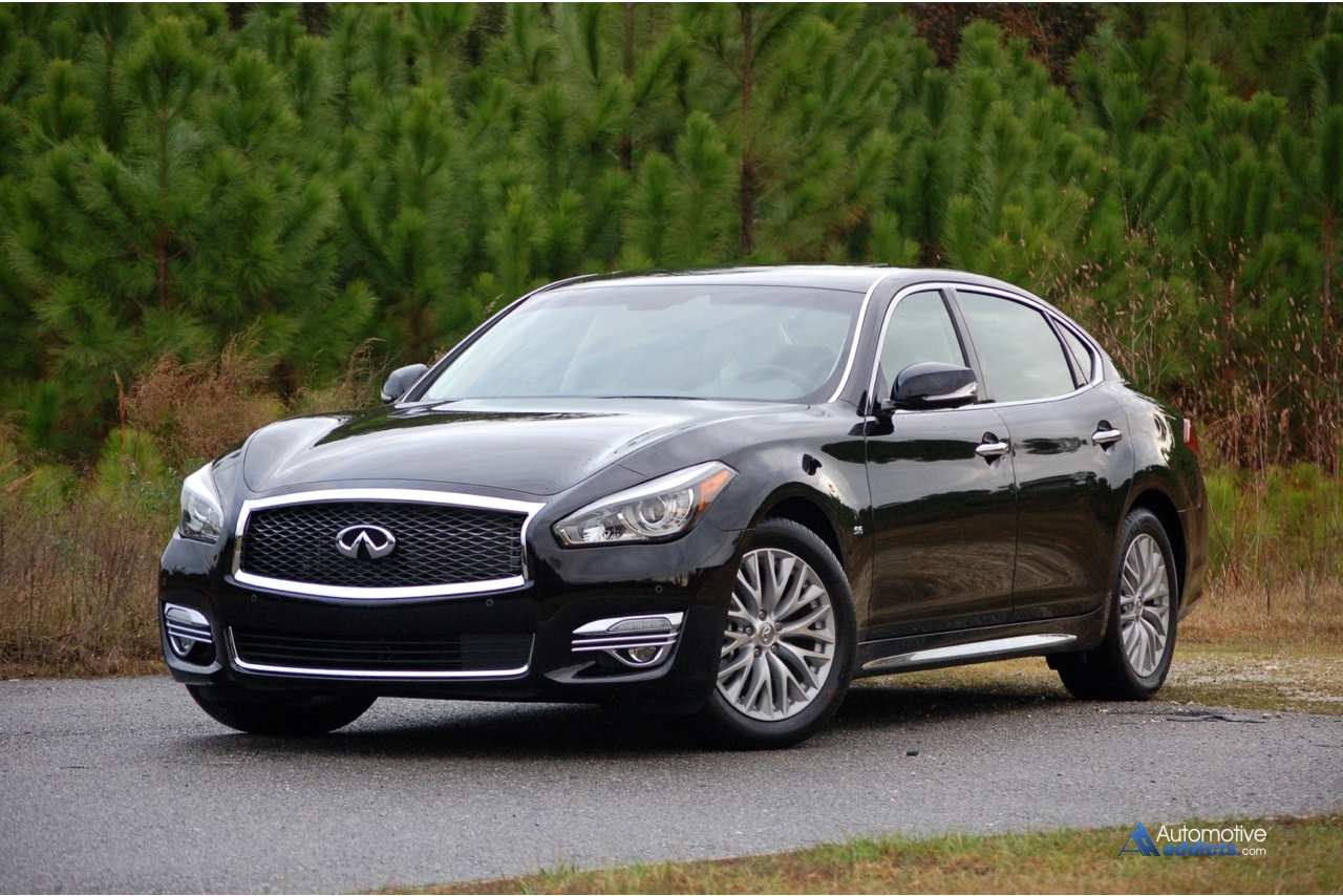infinity test road exterior review infiniti hd