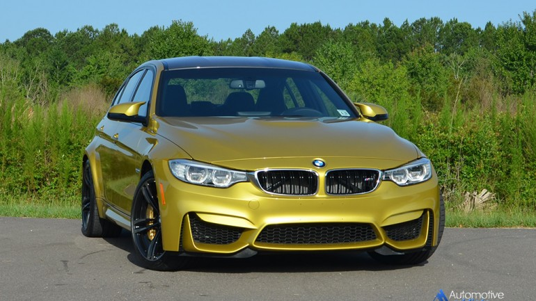 2015 BMW M3 Quick Spin Review