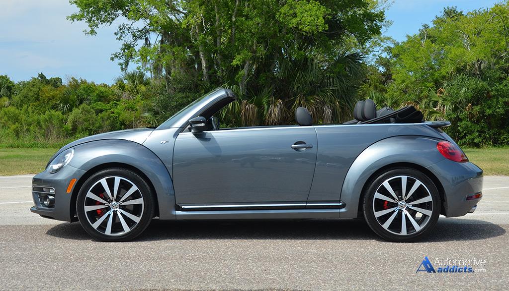 2015 volkswagen beetle convertible r line quick spin. Black Bedroom Furniture Sets. Home Design Ideas