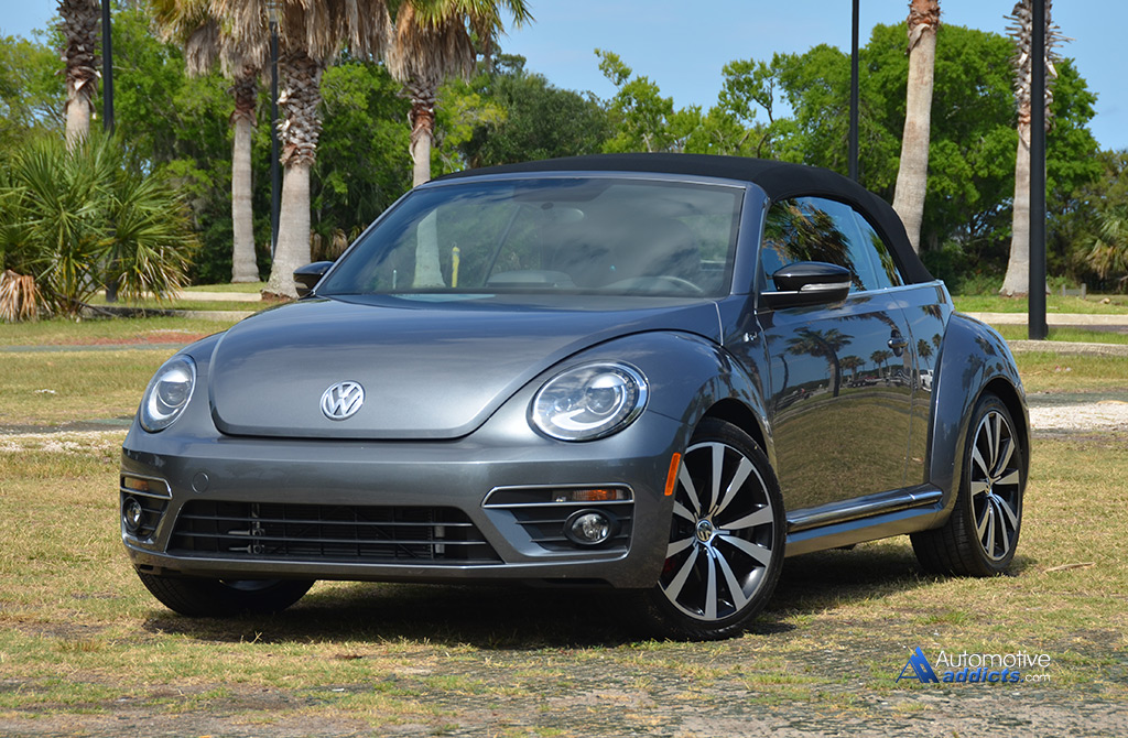 2015 volkswagen beetle convertible r line quick spin. Black Bedroom Furniture Sets. Home Design Ideas