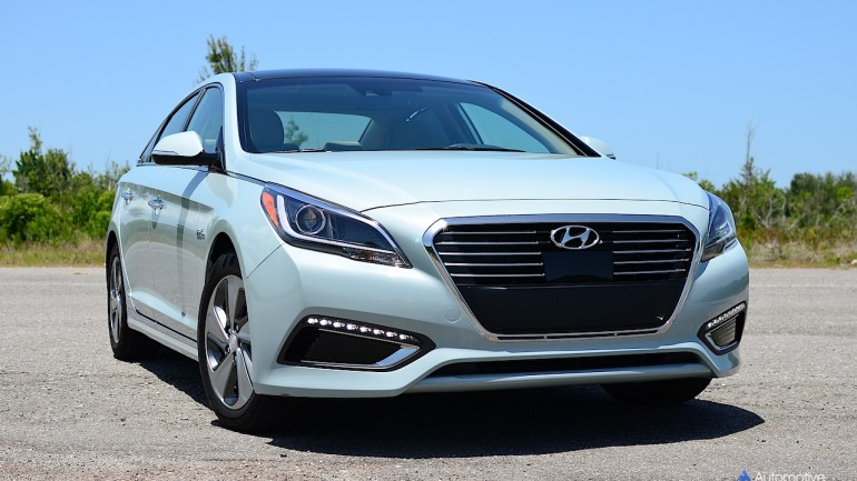 2016 Hyundai Sonata Hybrid Limited Review & Test Drive