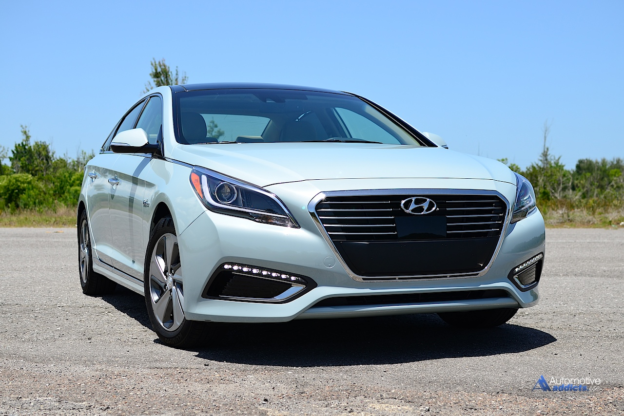 2016 Hyundai Sonata Hybrid Limited Review amp; Test Drive