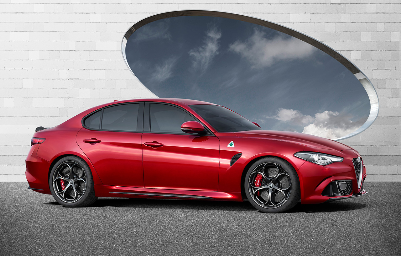 2017 alfa romeo giulia sports sedan officially introduced. Black Bedroom Furniture Sets. Home Design Ideas