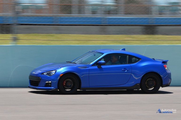 Canadian Motorsport Hall of Famer Bill Adam treated the group to some incredible hot laps in the WRX, STI, & shown Series.Blue.Edition BRZ.