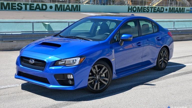 Subaru's Fastest Tested On Track: BRZ, 2016 WRX, STI Driven