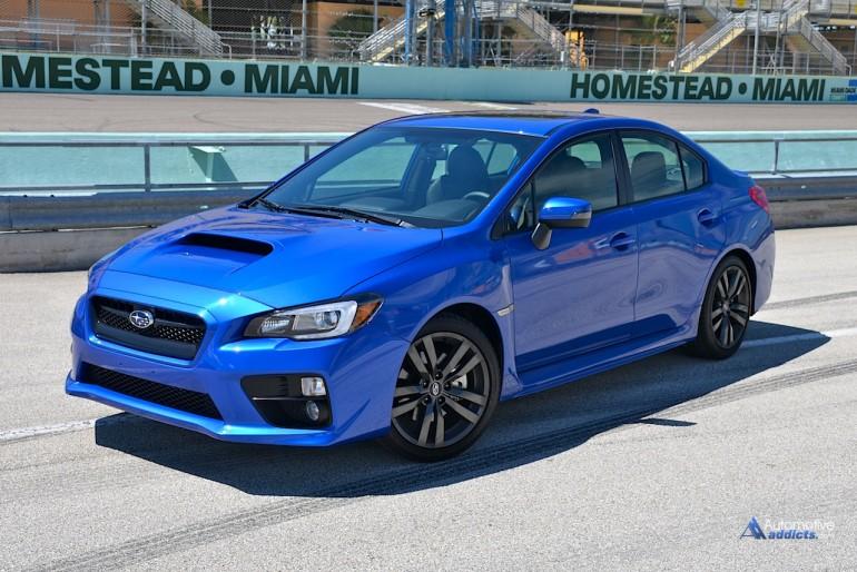 The 2016 Subaru WRX at Homestead-Miami Speedway