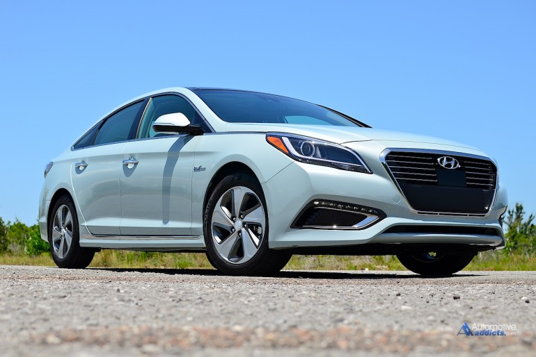 The 2016 Hyundai Sonata Hybrid made its Florida debut at the show . Thanks to Hyundai USA for sponsoring the June 2015 event.