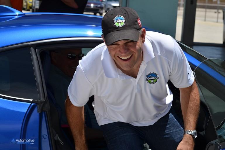 AutomotiveAddicts.com senior editor climbs out of the Bill Adam piloted BRZ.