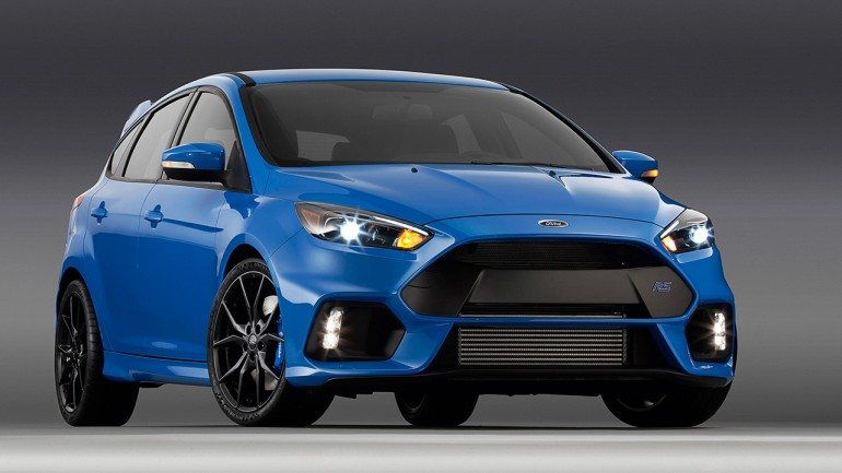 Ford Focus RS Will Be Extra-Hot Hatch with 345-Horsepower