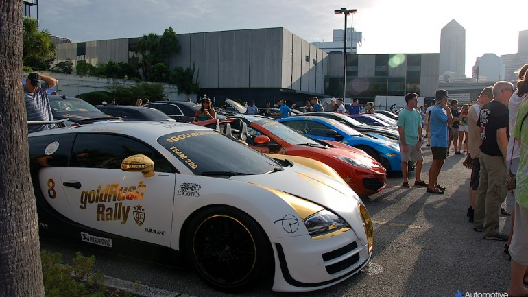 Automotive Addicts Cars & Coffee Strikes Gold: goldRush Rally 7 joins forces for the June 2015 event