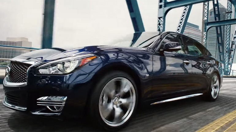 "Infiniti Chooses Jacksonville, FL for 2015 Q70L ""The Client"" Promotional Video"