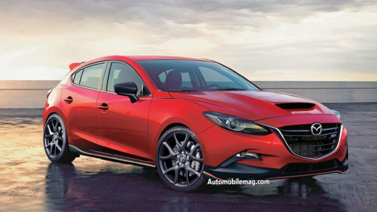Build It and We Will Come: Next MazdaSpeed3 Envisioned