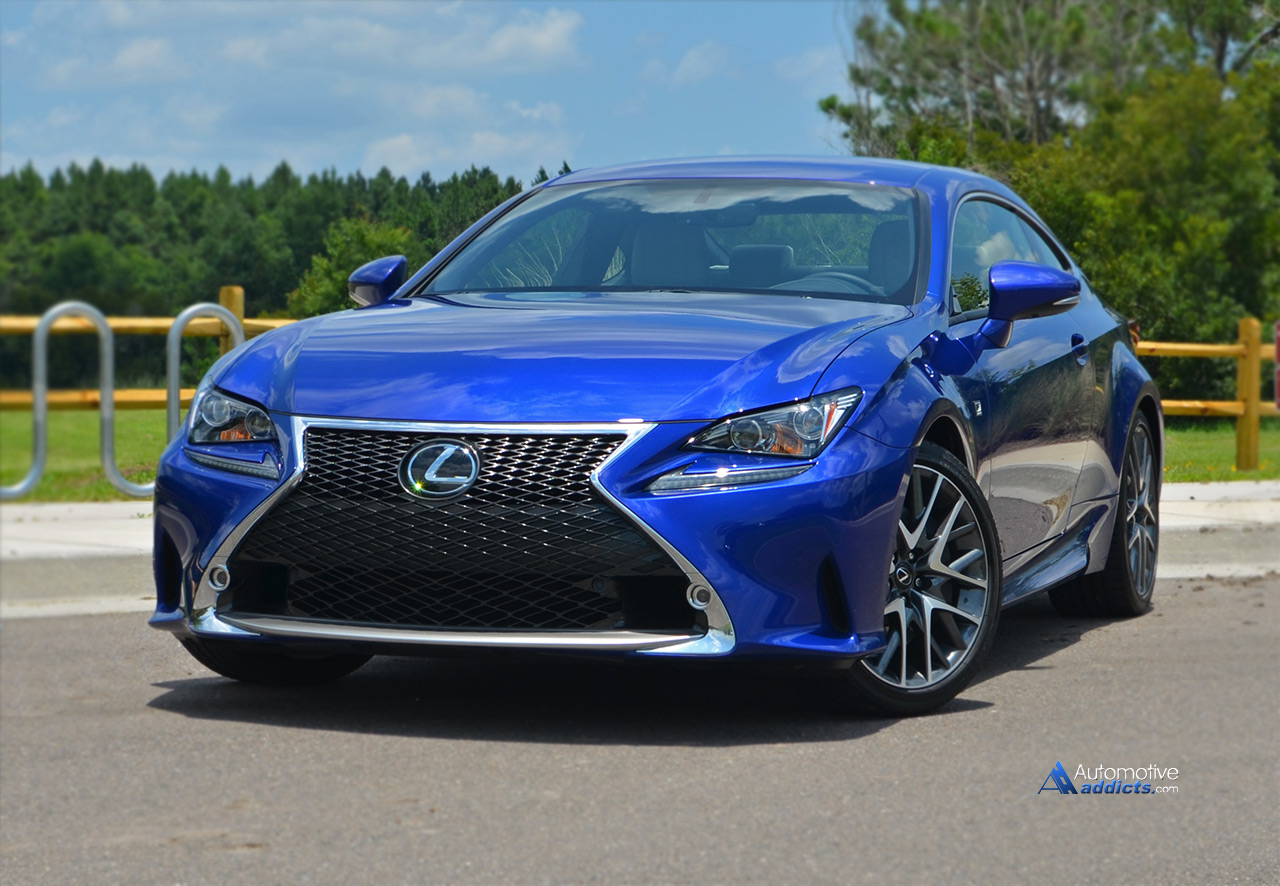 Simple 2015 Lexus Rc 350 F Sport