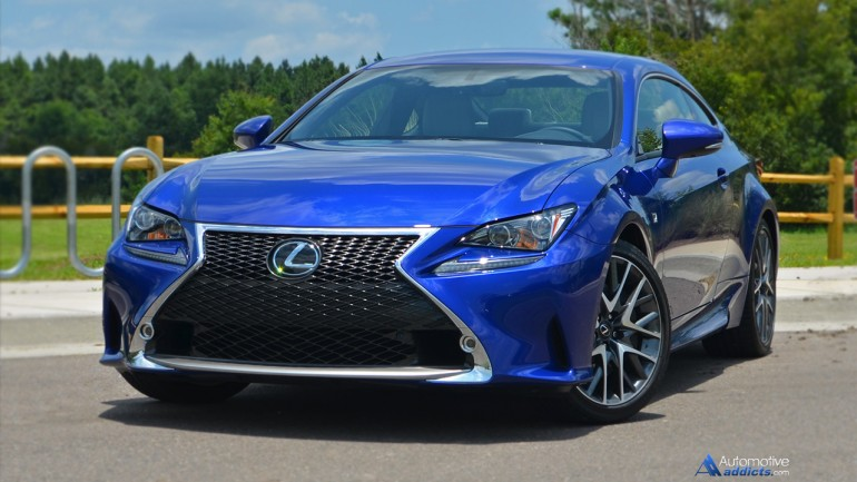 2015 Lexus RC 350 F Sport Review & Test Drive