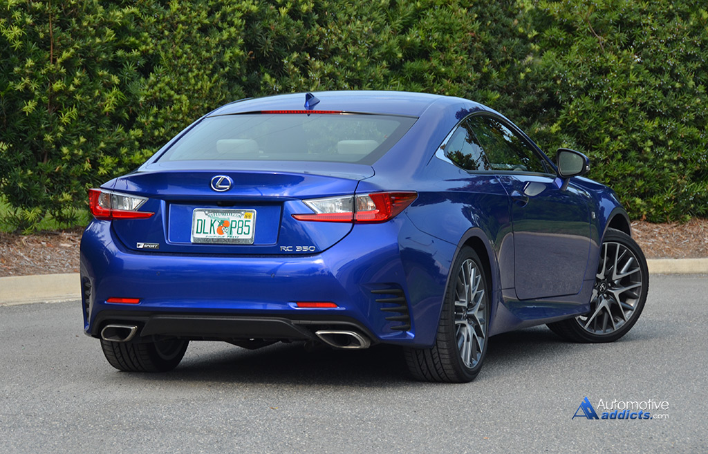 Excellent 2015 Lexus RC 350 F Sport Review Amp Test Drive
