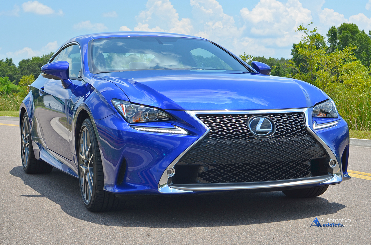 2015 lexus rc 350 f sport review test drive. Black Bedroom Furniture Sets. Home Design Ideas