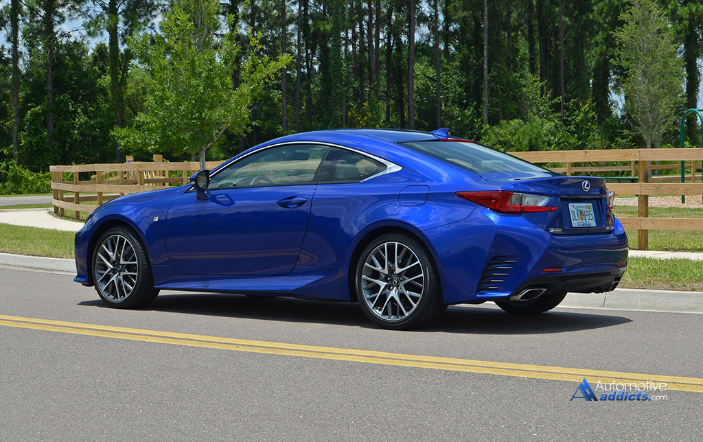 in our garage 2015 lexus rc 350 f sport. Black Bedroom Furniture Sets. Home Design Ideas
