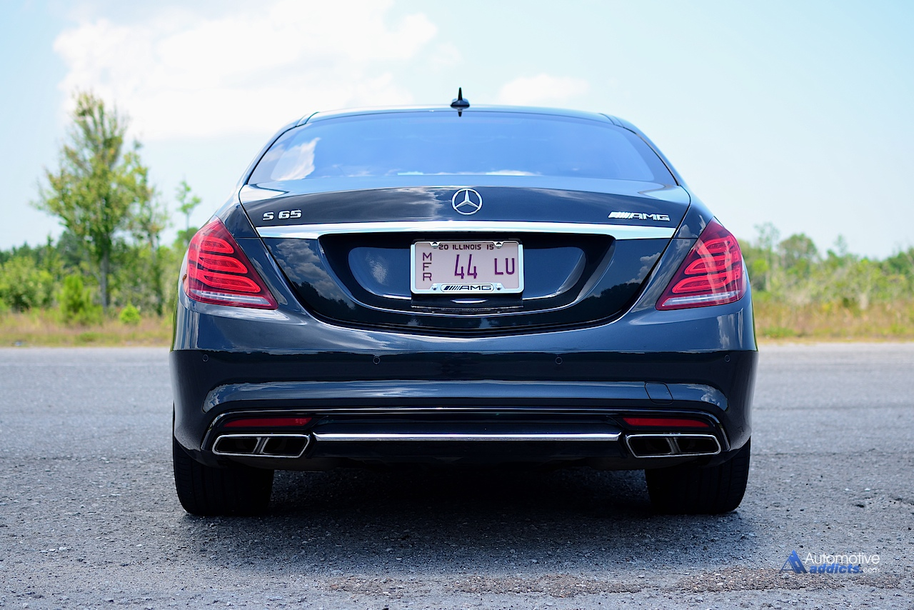 2015 mercedes benz s65 amg sedan rear 2 for Mercedes benz s65 amg 2015