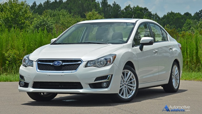 2015 Subaru Impreza 2.0i Limited Review & Test Drive
