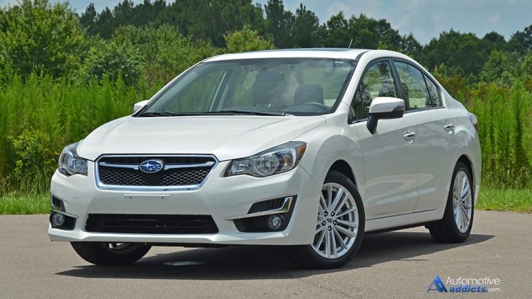 2015 Subaru Impreza 2.0i Limited Review & Test Drive