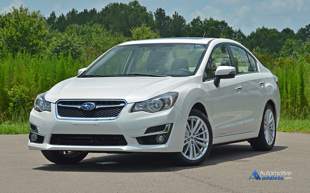 2015 subaru impreza limited review test drive. Black Bedroom Furniture Sets. Home Design Ideas