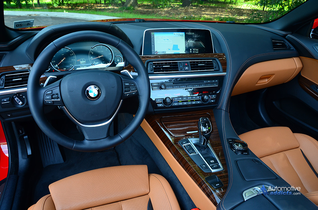 2016 Bmw 650i Convertible Dashboard 1 Automotive Addicts